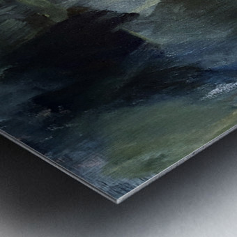 The Edge of the Garden Metal print