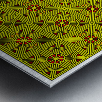 Labyrinth 4103 Metal print