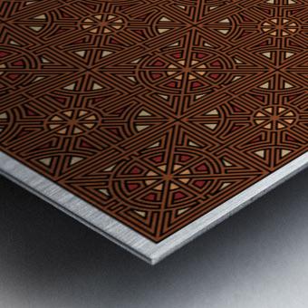 Labyrinth 4102 Metal print