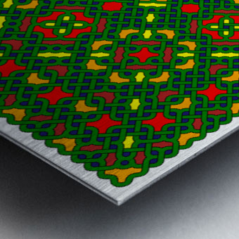 Celtic Maze 5027 Metal print