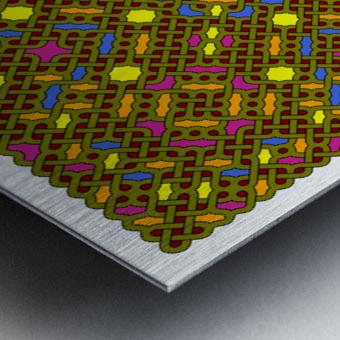 Celtic Maze 5030 Metal print