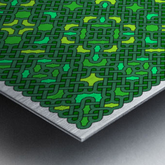 Celtic Maze 5032 Metal print