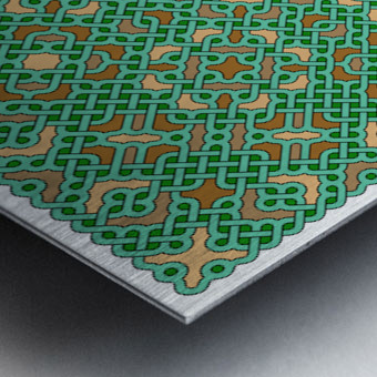 Celtic Maze 5031 Metal print