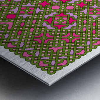 Celtic Maze 5029 Metal print