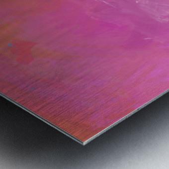 Pink Surf Metal print