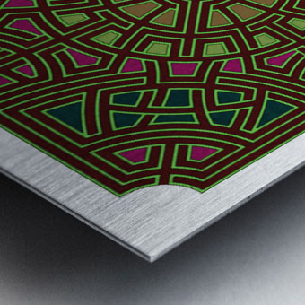 Labyrinth 1802 Metal print