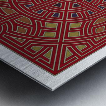 Labyrinth 1805 Metal print