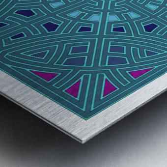 Labyrinth 1806 Metal print