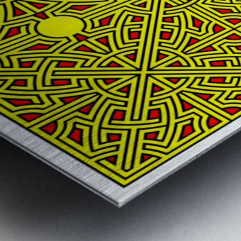 Labyrinth 2601 Metal print