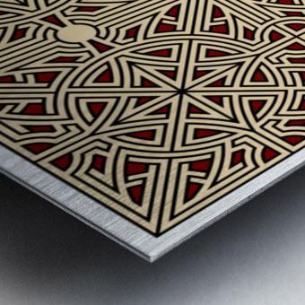 Labyrinth 2604 Metal print