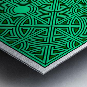 Labyrinth 2603 Metal print