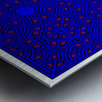 Labyrinth 2602 Metal print