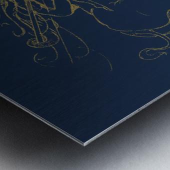 Vanishing Point Dusk Metal print