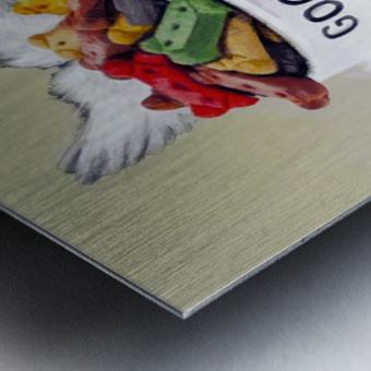 Beagle Quote Metal print