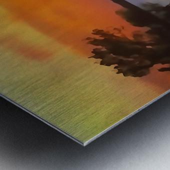 Tranquil Sunset Metal print