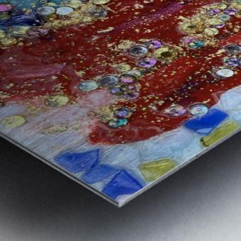Rained Confetti  Metal print