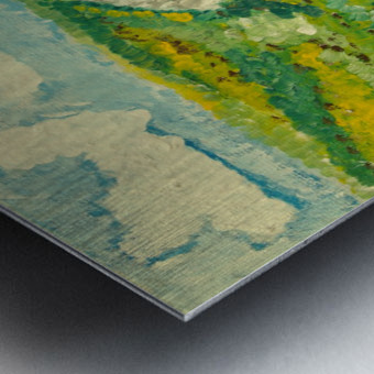 By the Sea Metal print