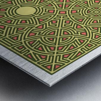 Maze 2808 Metal print