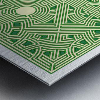 Maze 2821 Metal print