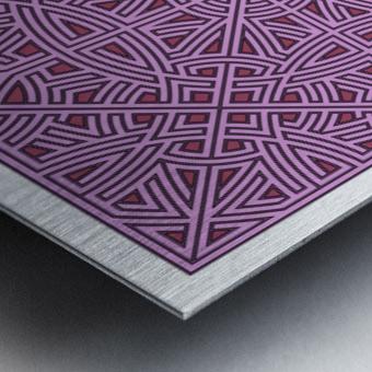 Maze 2876 Metal print