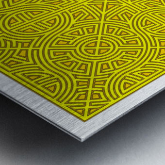 Maze 2880 Metal print