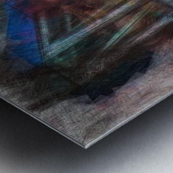 Deconstruction of a Model Metal print