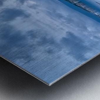 Cheticamp Harbour Metal print