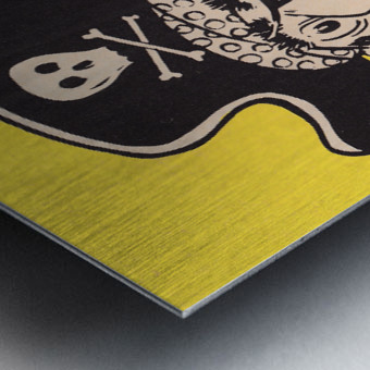 Vintage Sixties Pittsburgh Pirates Art Metal print