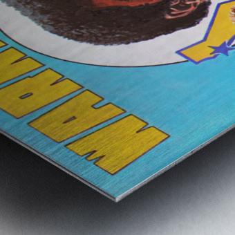 1974 Golden State Warriors Retro Remix Art Metal print