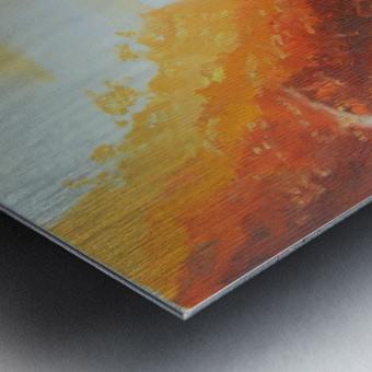 MiraculoussunsetProctorBeach Metal print