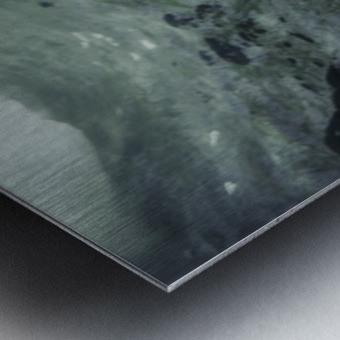 Our white Metal print