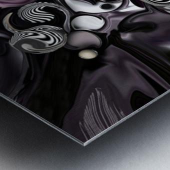 Silmulacrum vs Dimensionality Metal print