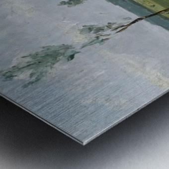 Behind the Dunes Metal print