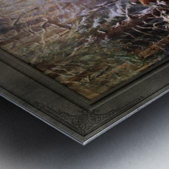 Ivan Susanin by Konstantin Makovsky Classical Fine Art Xzendor7 Old Masters Reproductions Metal print