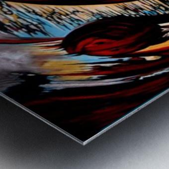 Incidental Landscape with Secret Reality Metal print