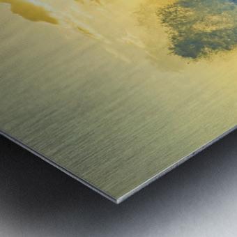 Waves Swirl at the Seaside Hawaii - Square Metal print