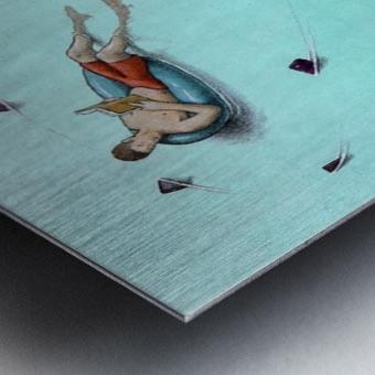 Sharks Metal print