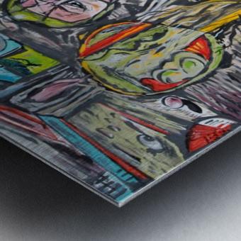 The Autopsy Metal print