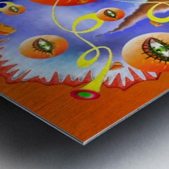 Fioloniceto V2 - digital surrealism Metal print