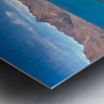 Towering over Lake Wakatipu Metal print