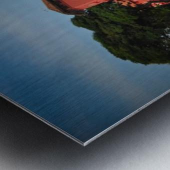 Melaka Metal print