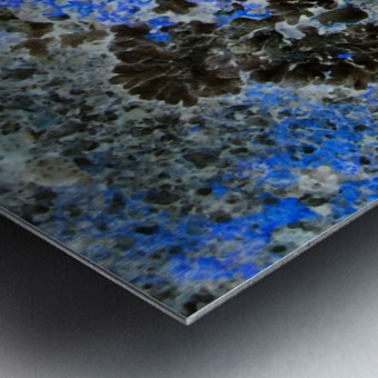Blue Rock Metal print