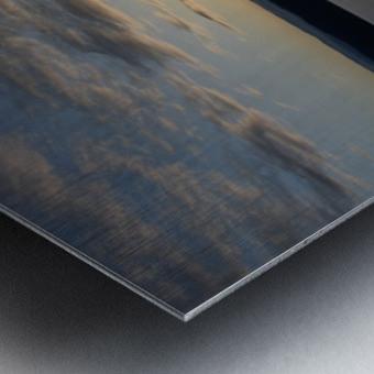 Sunset Boating on Champlain II Metal print