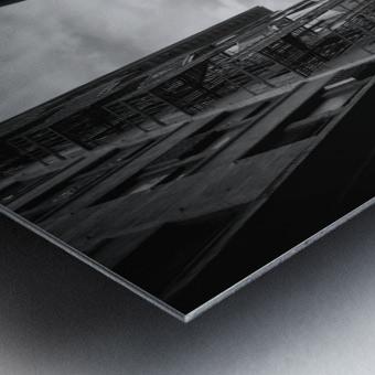 New York Street Metal print