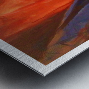 Zion Metal print