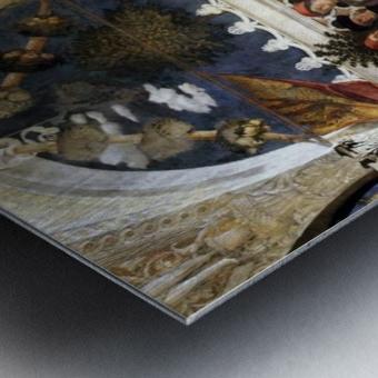 The Court of Mantua Metal print