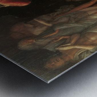 Descent into Limbo Metal print