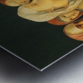 Presentation at the Temple Metal print