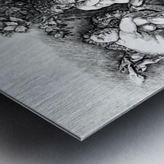 Bacchanal in Silene Metal print