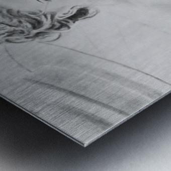 Bride BLG Metal print